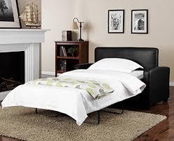Sofa Sleeper Twin by Amazon Com Mainstays Sofa Sleeper Black Kitchen U0026 Dining