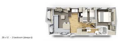 Caravan Floor Plans New 2018 Willerby Skye Static Caravan Holiday Home At Roy Kellett