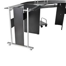 black modern desk amazon com homcom 69
