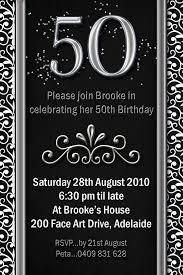 impressive 50th birthday party invitation template theruntime com