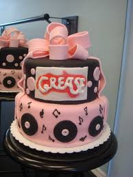 grease birthday cake 10