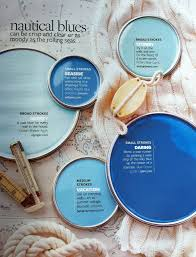 paint palette nautical blues can be clear and crisp of moody as