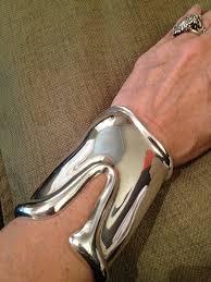 tiffany bracelet silver cuff images Genuine vintage tiffany 1975 elsa peretti long bone cuff bracelet jpg