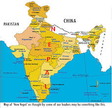 map of nepal and india merging nepal and india as nepal border nepal buddhi