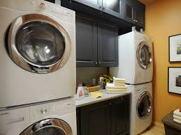 furniture space for stackable washer and dryer ideas
