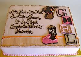 cowgirl baby shower cake 400017 bs st 058 creative cakes
