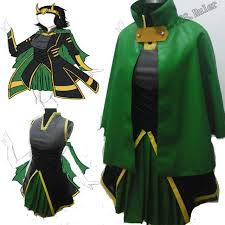 online shop customized the avengers loki cosplay costume women u0027s