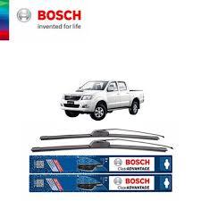 bosch clear advantage wiper blade set toyota hilux vigo size 21