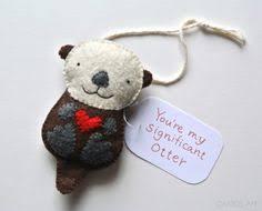 pig ornament gift pig felt pig handmade stuffed animal