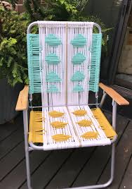 Outdoor Chair Webbing Macrame Lawn Chair Tutorial My French Twist