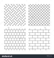 square brick paver patterns patio cost per foot uk yard loversiq