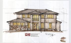 Custom Homes Designs On The Boards Concept House Designs In The Making