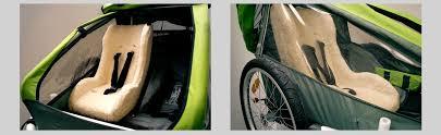 siege coque bébé focus sur melia la marque de sièges vélo bébé pour remorque enfant