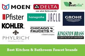 kitchen faucet brands top 10 best kitchen bathroom faucet brands in 2018