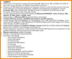 example of a resume summary 11 resume career summary examples