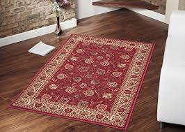 Area Rugs With Rubber Backing Ottomanson Ottohome Collection Traditional Floral Design Modern