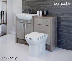 Bathroom Fitted Furniture Latte Driftwood Bathroom Fitted Furniture 1200mm Ebay