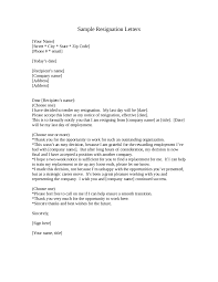 exle letter of resignation 2 week notice gallery letter
