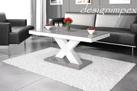 Wohnzimmertisch Crashglas Design Couchtisch Hochglanz Weiß Günstig Bei Yatego