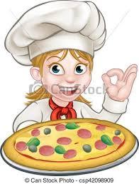 chef pizza woman pizza chef woman chef