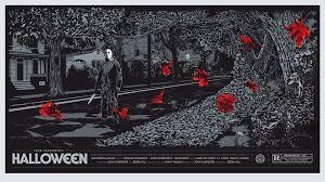 halloween michael myers mondo movie poster by ken taylor jpg 2 000