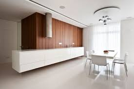 white wood kitchen diner interior design ideas