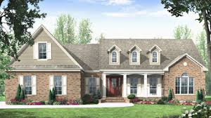 cape cod ranch with bonus room from the plan collection 141 1272