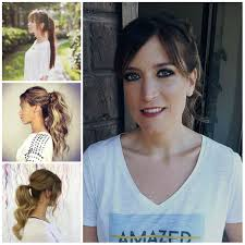 effortless ponytail hairstyles with bangs haircuts hairstyles