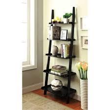 bookshelf astounding leaning ladder shelf ikea interesting