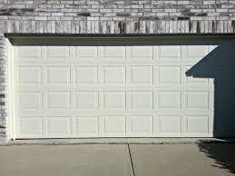 double steel garage door cowtown garage door blog 16x7 double steel