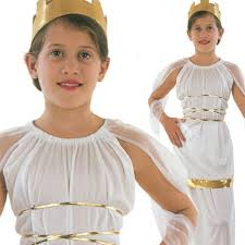 Mythical Goddess Girls Costume Girls Costume Girls Roman Costume Ebay