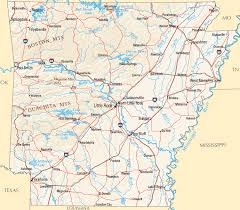map of arkansas arkansas map map of arkansas