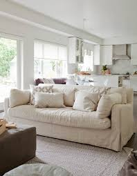 neutral area rug family room transitional with patterned pillows