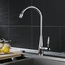 Lead Free Kitchen Faucets Homfa Kitchen Faucet Single Handle Lead Free Kitchen Sink Faucet