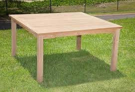 square outdoor dining table teak wentworth square outdoor dining table 140cm