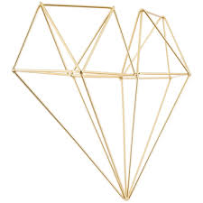 Gold Wall Decor by Gold Geometric Wall Decor Hobby Lobby 1121359