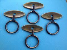 Brass Ring Pulls Cabinet Hardware by Mid Century Modern Oiled Walnut High Chest Dresser W Solid Brass