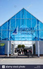 Freeport The Entrance To The Fleetwood Freeport Outlet Shopping Centre In