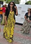 M.P: Omotola Jalade in Tanzania for Wema Sepetu's Movie Launch
