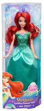 disney princess sparkle doll ariel toys