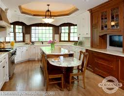kitchen island height decoration