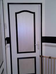 decoration de porte de chambre chambre deco couloir noir et beau deco couloir noir et blanc idées