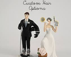 hockey cake toppers wedding cake topper basketball american