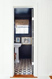 Dark Blue Powder Room Paint Your Powder Room Diy
