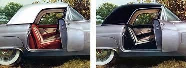 1956 ford thunderbird paint codes
