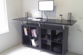 Diy Stand Up Desk Ikea Popular Ikea Stand Up Desk Inside Ikea Standing Hack Diy Gadgets 4