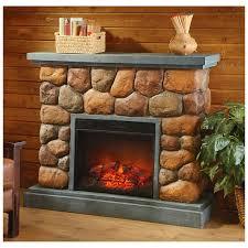 castlecreek imitation stone fireplace 420851 fireplaces at