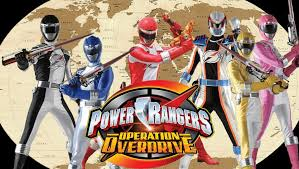 power rangers operation overdrive rangerwiki fandom powered