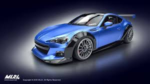 custom subaru brz ml24 automotive design prototyping and body kits