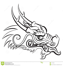 dragon head coloring pages japanese dragon drawings dragon sketch medieval dragon